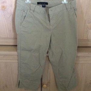 Calvin Klein Capri/Ankle Jeans (GREEN KHAKI)